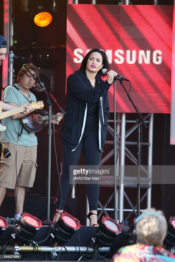 <a gi-track='captionPersonalityLinkClicked' href=/galleries/search?phrase=Demi+Lovato&family=editorial&specificpeople=4897002 ng-click='$event.stopPropagation()'>Demi Lovato</a> is seen on May 24, 2016 in Los Angeles, CA.