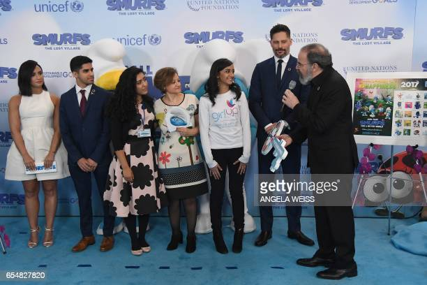 Demi Lovato Karan Jerath Noor Samee UnderSecretaryGeneral for Communications and Public Information Cristina Gallach Sarina Divam Joe Manganiello and...
