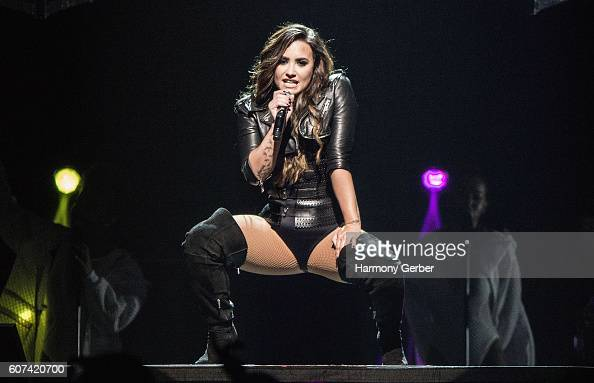 Demi Lovato performs at The Forum on September 17 2016 in Inglewood California