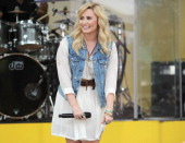 Demi Lovato performs on ABC's 'Good Morning America' at Rumsey Playfield on June 28 2013 in New York City
