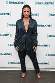 Demi Lovato Visits 'The Morning Mash Up' On SiriusXM...