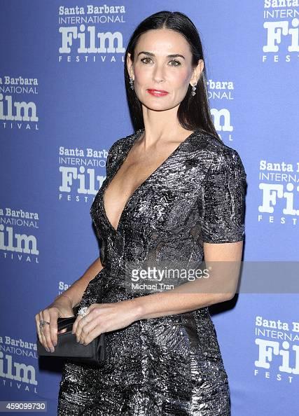 Demi Moore arrives at Santa Barbara International Film Festival 9th Annual Kirk Douglas Award for Excellence in Film honoring Jessica Lange held at...