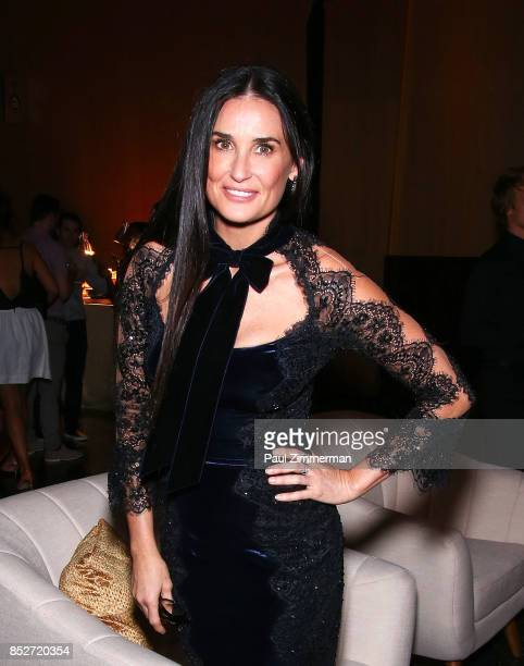 Demi Moore attends 'Empire' 'Star' Celebrate FOX's New Wednesday Night After Party at One World Observatory on September 23 2017 in New York City