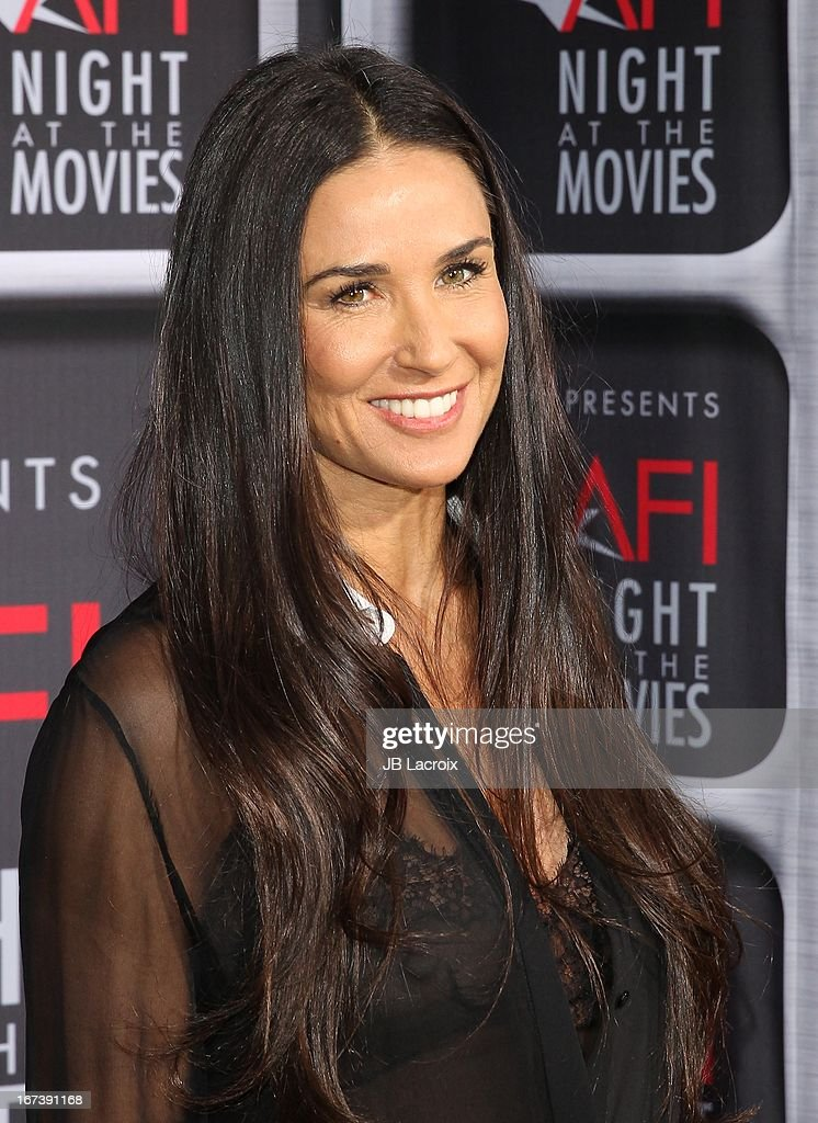 Demi Moore attends the AFI Night At The Movies presented by Target held at ArcLight Hollywood on April 24, 2013 in Hollywood, California.