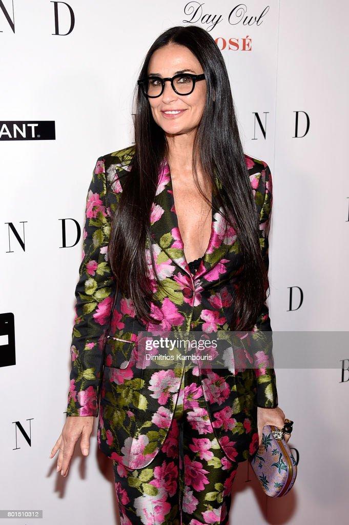 Demi Moore attends the 'Blind' premiere at Landmark Sunshine Cinema on June 26, 2017 in New York City.