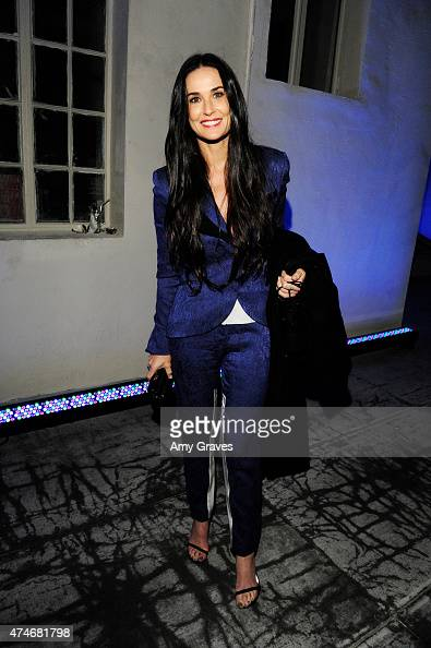 Demi Moore attends the Just One Eye Launch of the Utilitarian Backpack Event at Just One Eye on December 5 2014 in Hollywood California