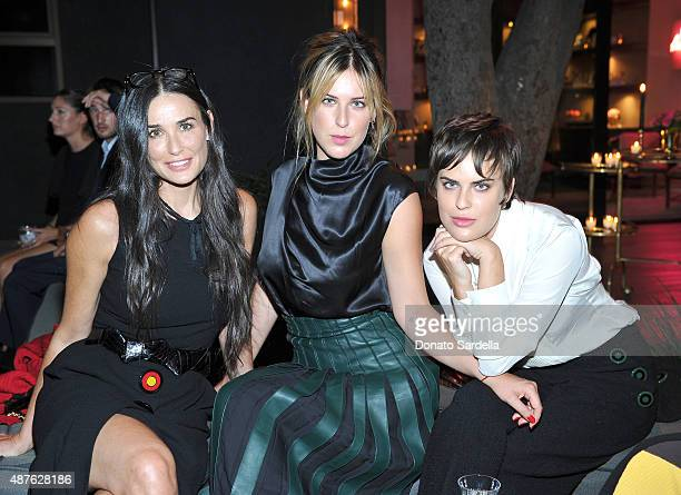 Demi Moore Scout Willis and Tallulah Willis attend a dinner celebrating 100 years of Ferragamo hosted by the Ferragamo family and Vogue's Lisa Love...