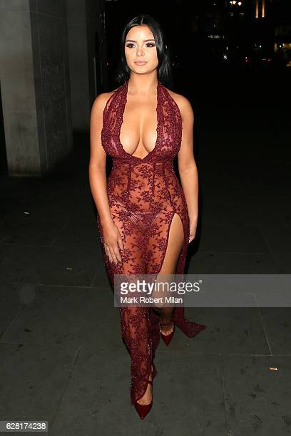 Demi Rose at Radio bar on December 6 2016 in London England