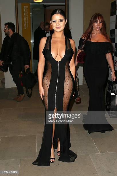Demi Rose attending the Beauty Awards in association with OK and Debenhams at the Banqueting House on November 24 2016 in London England