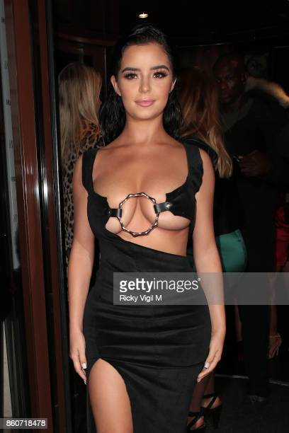 Demi Rose seen attending Sixty6 Magazine issue four launch party at Sanctum Soho Hotel on October 12 2017 in London England