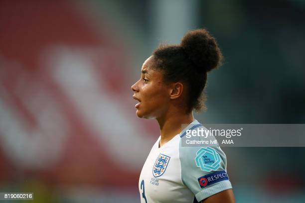 Demi Stokes of England Women during the UEFA Women's Euro 2017 match between England and Scotland at Stadion Galgenwaard on July 19 2017 in Utrecht...