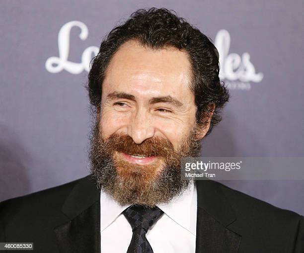 Demian Bichir arrives at The Music Center's 50th Anniversary Spectacular held at Dorothy Chandler Pavilion on December 6 2014 in Los Angeles...