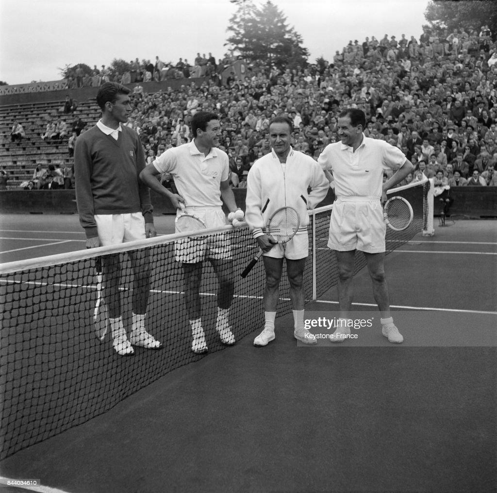 Demi finale de la coupe Davis  Roland Garros