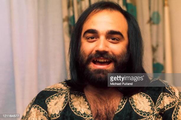 Demis Roussos portrait London 12th March 1974