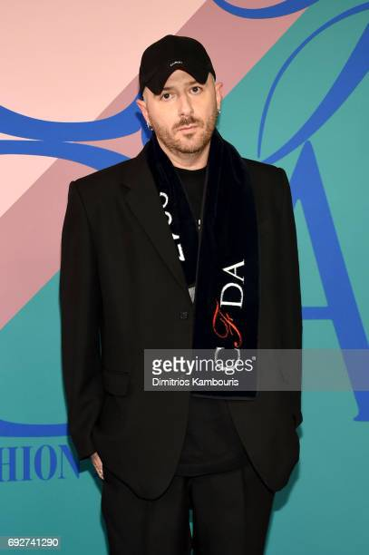 Demna Gvasalia attends the 2017 CFDA Fashion Awards at Hammerstein Ballroom on June 5 2017 in New York City