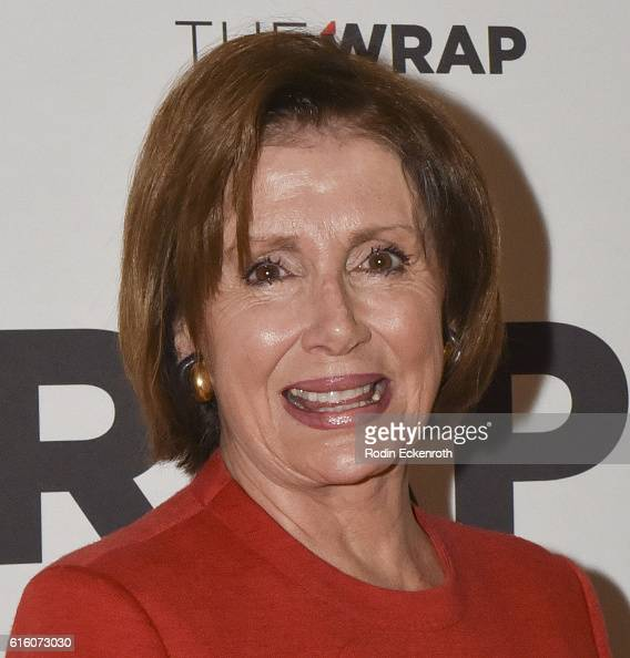 Democaratic Leader of the US House of Representatives 114th Congress Nancy Pelosi attends TheWrap's 8th Annual Power Women Breakfast at Montage...