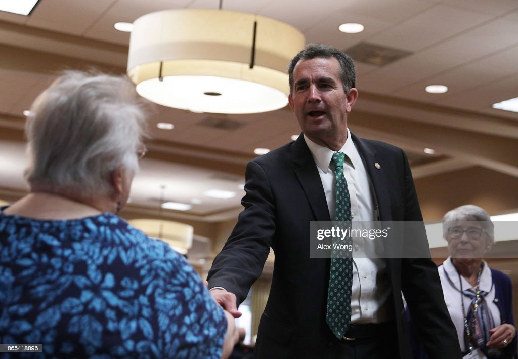 Democratic Gubernatorial Candidate Ralph Northam Campaigns Ahead Of Election