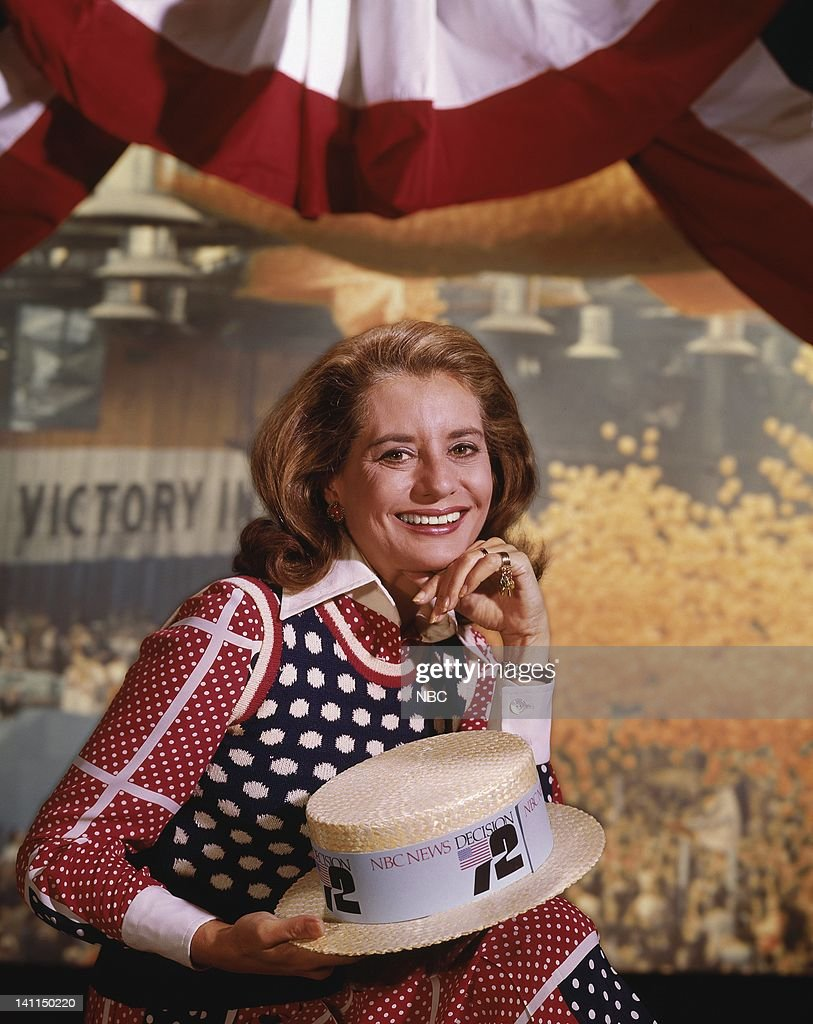 TODAY -- Democratic National Convention -- 1972 -- Pictured: Today Show anchor Barbara Walters -- Photo by: NBCU Photo Bank