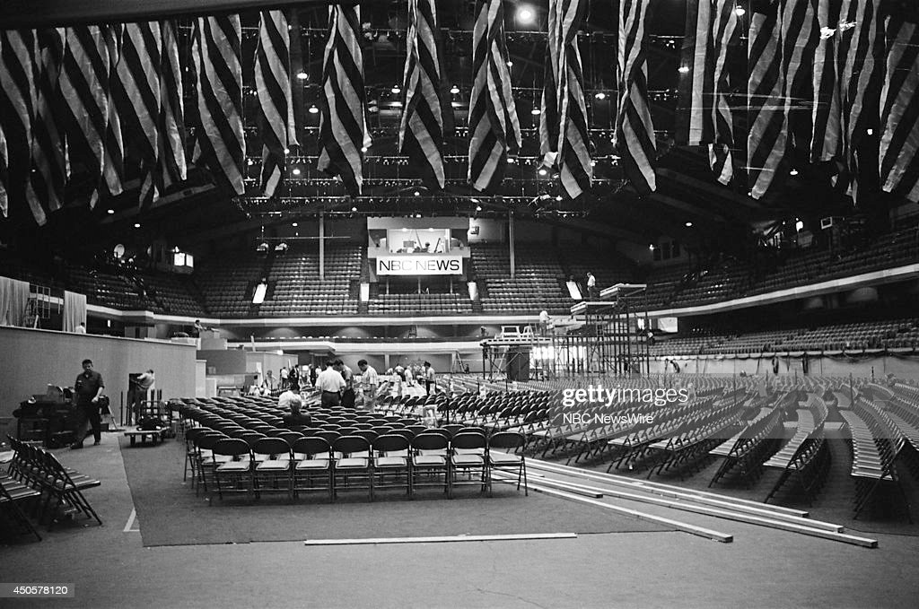 Democratic National Convention Pictured The International Amphitheatre before the 1968 Democratic National Convention held in Chicago Illinois from...