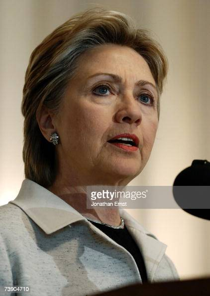 Democratic presidential candidate Hillary Rodham Clinton speaks at a religious conference held by the Religious Action Center of Reform Judaism at...