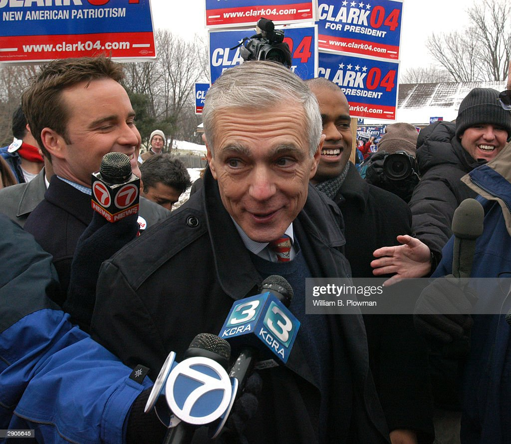 about general wesley clark a democratic candidate for the 2004 presidental election Democratic party presidential primaries, 2004 from infogalactic democratic presidential candidate before election al gore democratic several organized groups began a nationwide campaign to draft retired four-star general wesley clark for the democratic party's nomination for.