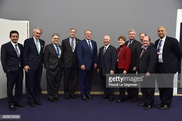 Democratic US Senators Brian Schatz Ed MarkeyAl FrankenJeff Merkley Vice President Al Gore Senators Ben CardinJeanne ShaheenSheldon WhitehouseTom...