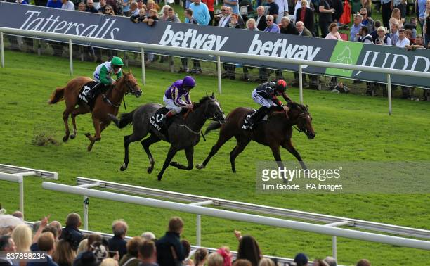 Demons Rock ridden by Richard Kingscote before winning the Betway Stakes during Juddmonte International Day of the Yorkshire Ebor Festival at York...