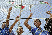 Demonstration against Israel's security fence