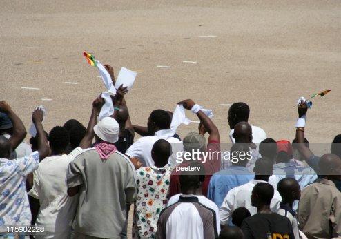 demonstration in africa