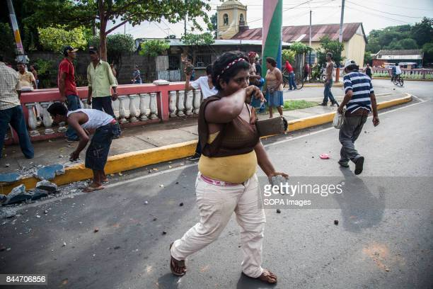 CHICHIGALPA CHINANDEGA NICARAGUA Demonstrations and clashes with the police have become too common in Chichigalpa The patients demand that they at...