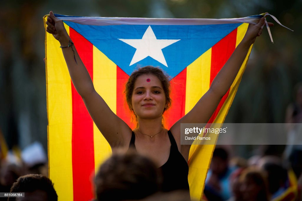 Catalonia Prepares For Referendum