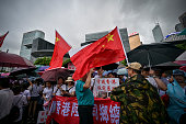 CHN: Protesters Attend Safeguard Hong Kong Rally