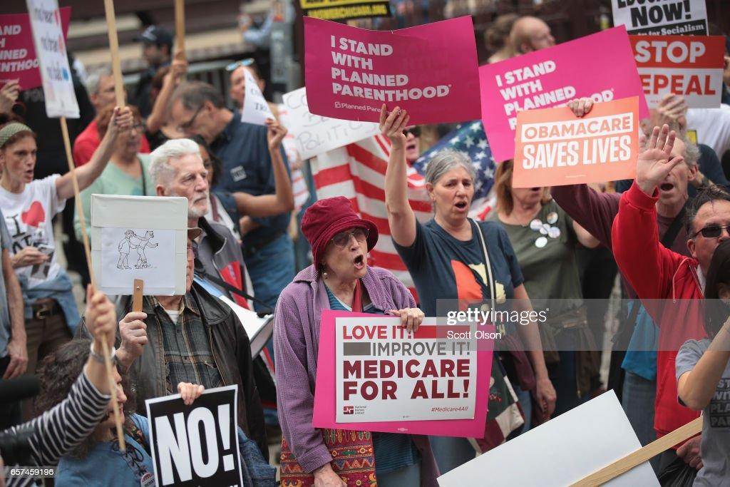 Activists Celebrate Defeat of Trump's Healthcare Bill