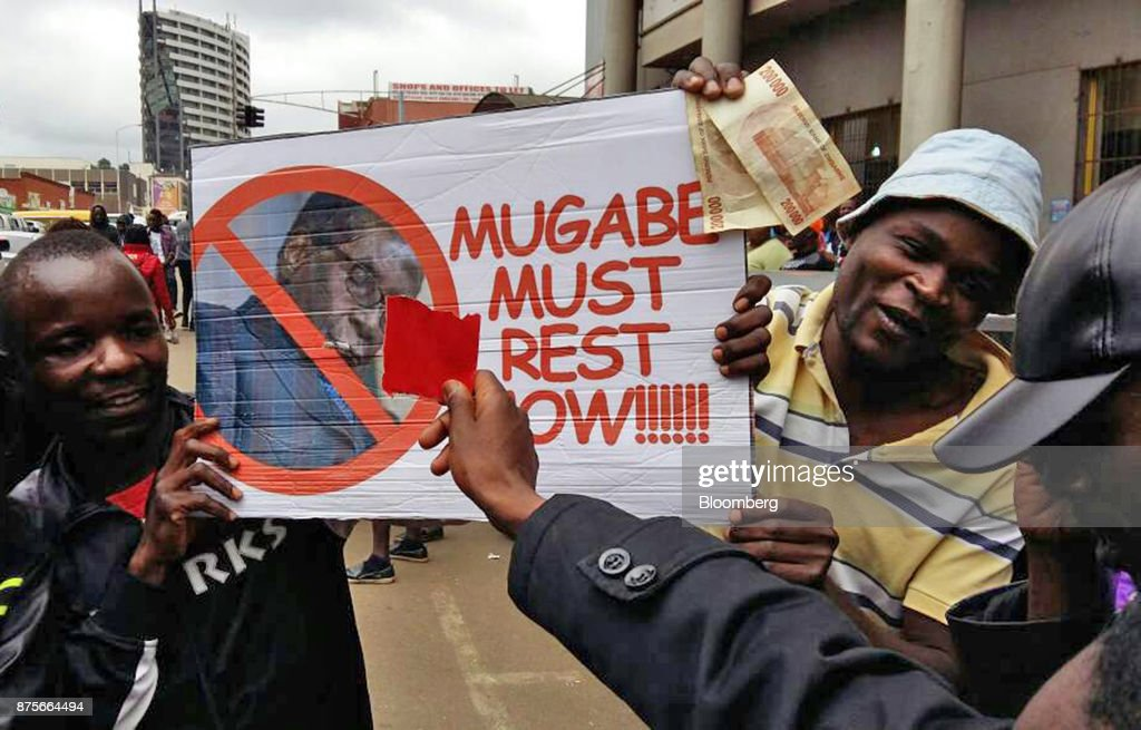 Mugabe Era Winds Down as Zimbabwe Ruling Party Backs His Ouster