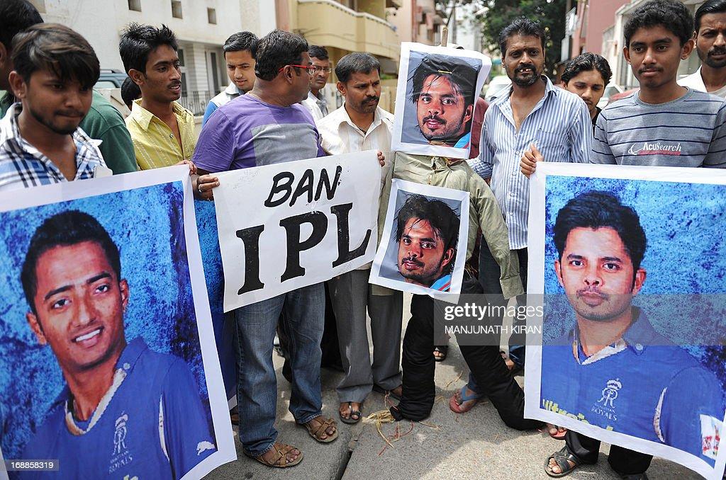 INDIA-CRIME-CORRUPTION-CRICKET-SREESANTH : News Photo