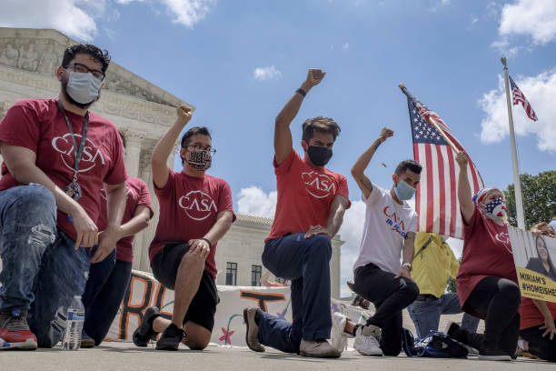 DC: U.S. Supreme Court Stops Trump Bid To Scrap Obama's DACA