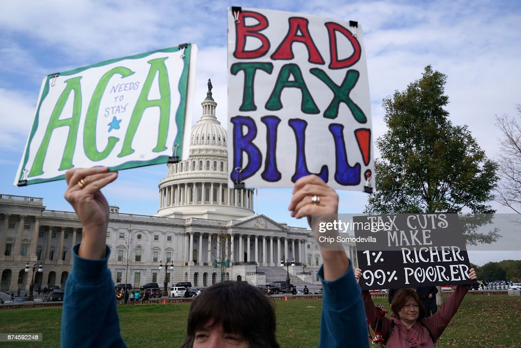 Capitol Hill Battles Over Tax Reform