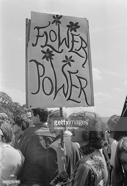 Demonstrators march in support for the legalisation of drugs Hyde Park London 1967