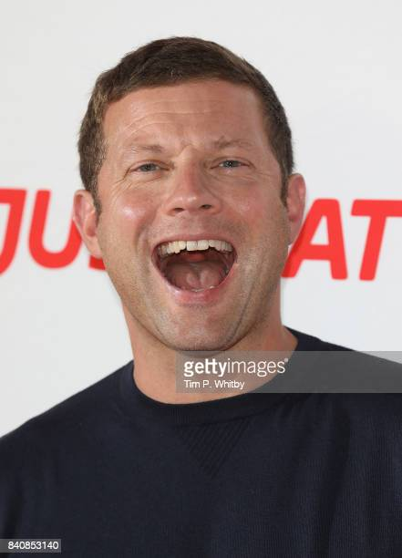 Demot O'Leary poses for a photo during The X Factor Series 14 red carpet press launch at Picturehouse Central on August 30 2017 in London England