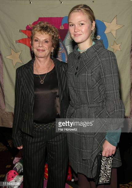 Dena Hammerstein and Julia Stiles during Sixth Annual Gala Benefit for Only Make Believe at The Hudson Theatre in New York City New York United States