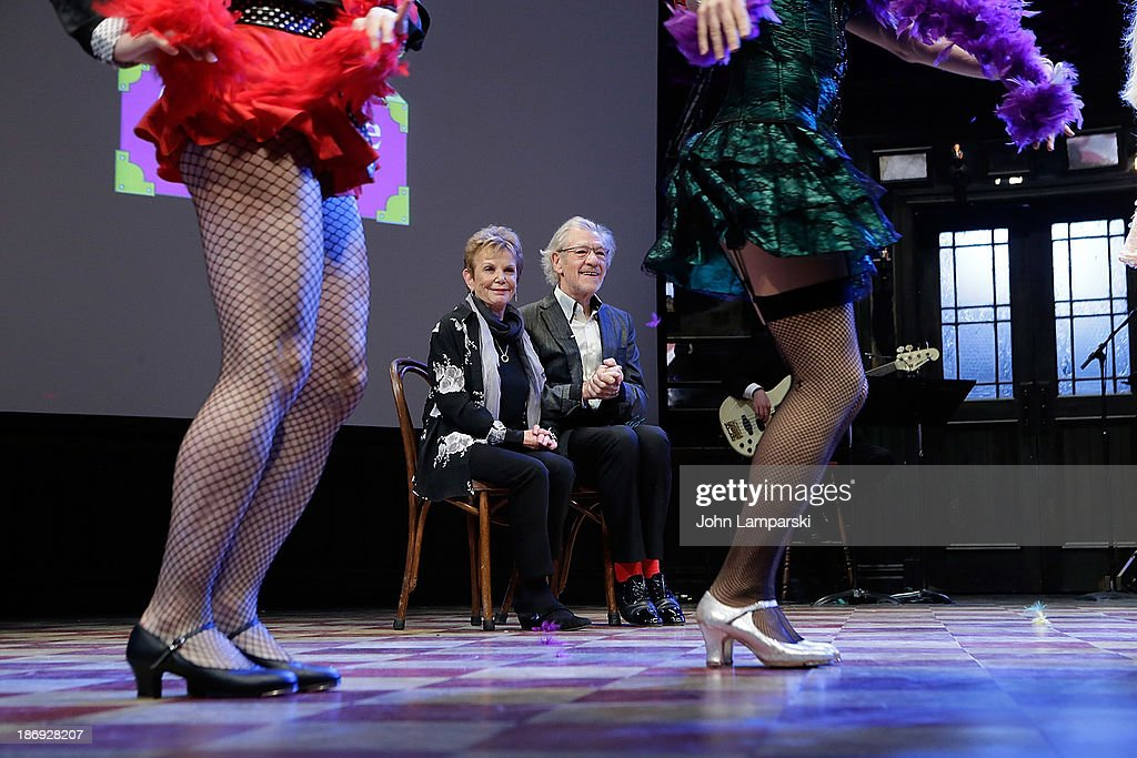Dena Hammerstein, Sir Ian McKellan and performers attend the 14th annual Make Believe On Broadway gala>> at The Bernard B. Jacobs Theatre on November 4, 2013 in New York City.