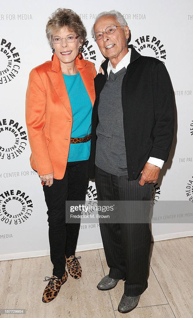 Dena Kaye (L) and choreographer Tony Charmoli attend The Paley Center For Media's Holiday Salute To Danny Kaye at The Paley Center for Media on December 5, 2012 in Beverly Hills, California.