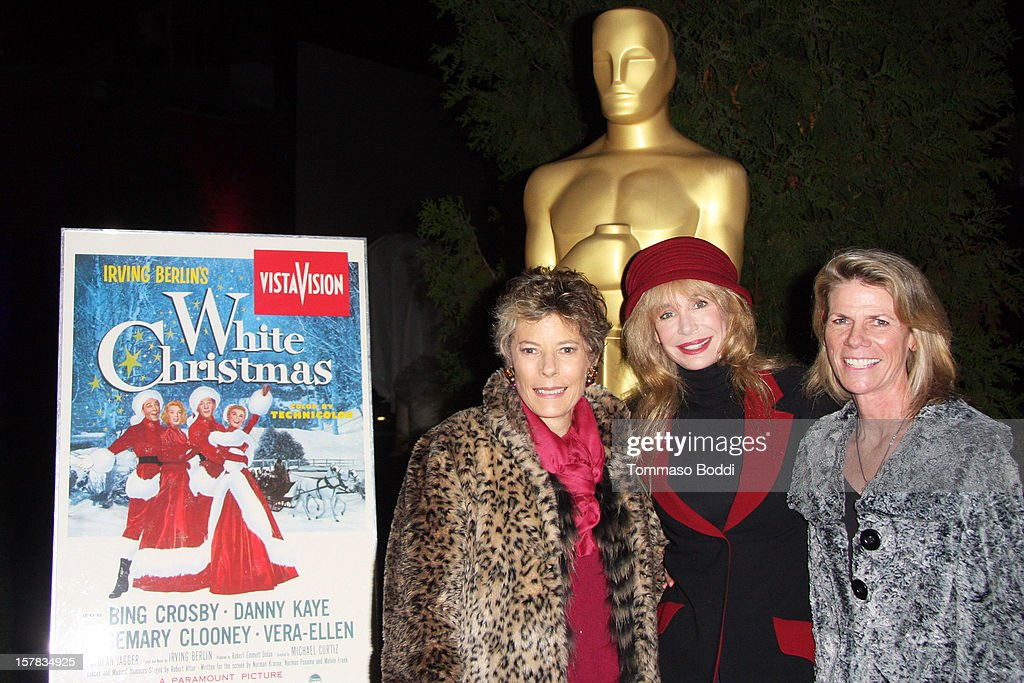 "Academy Of Motion Picture Arts And Sciences' Presents It's A ""White Christmas"" At Oscars Outdoors"