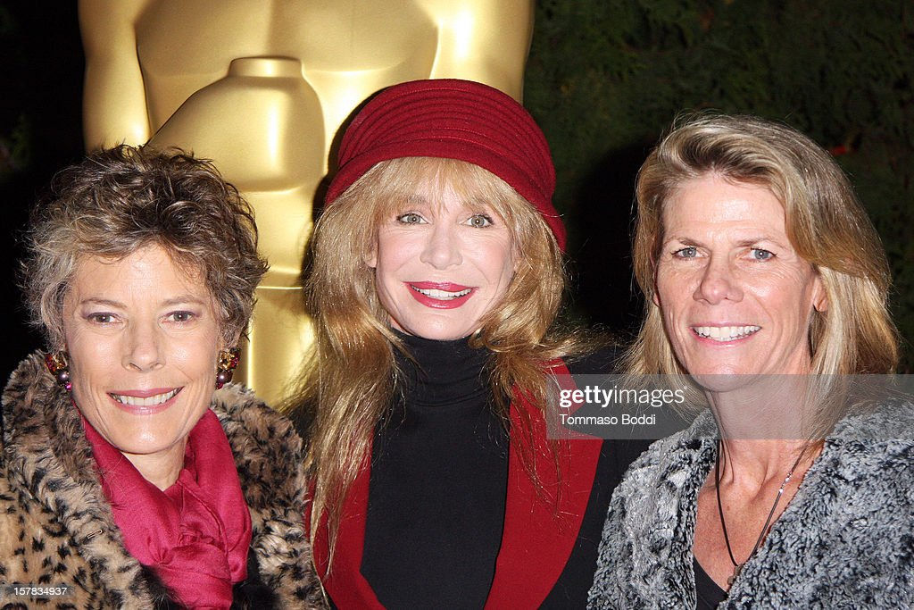 Dena Kaye, Mary Crosby and Monsita Ferrer Botwick attend the Academy Of Motion Picture Arts and Sciences' presents it's a 'White Christmas' held at Oscars Outdoors on December 6, 2012 in Hollywood, California.