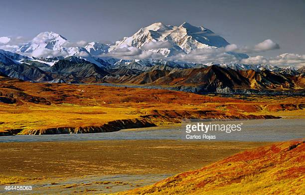 Denali in late fall colors