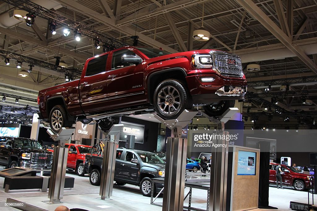 Denali is on display during the Canada Auto Show at Toronto Metro Convention Center in Toronto, Canada on February 11, 2016.