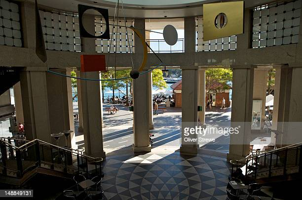 Dendy cinemas foyer, Opera Quays.