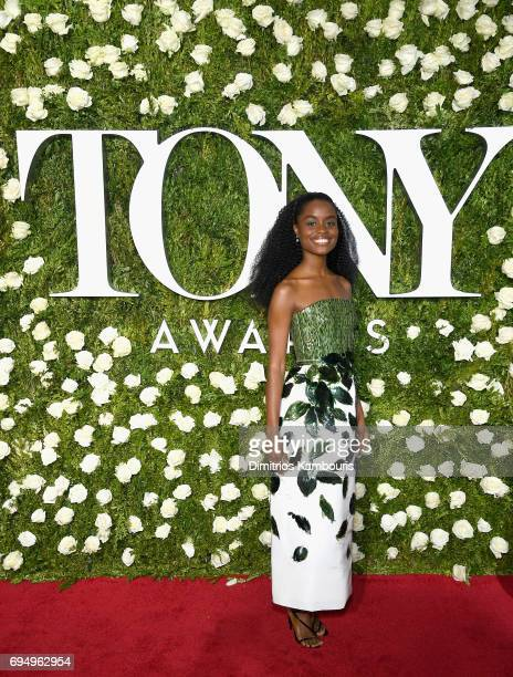 Denee Benton attends the 2017 Tony Awards at Radio City Music Hall on June 11 2017 in New York City