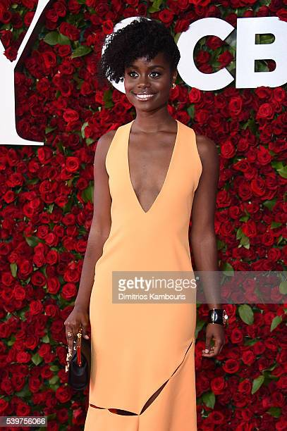 Denee Benton attends the 70th Annual Tony Awards at The Beacon Theatre on June 12 2016 in New York City