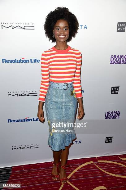 Denee Benton attends the 83rd Annual Drama League Awards Ceremony and Luncheonat Marriott Marquis Times Square on May 19 2017 in New York City
